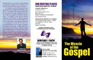 Miricle of the Gospel